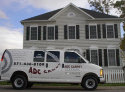 Experienced Carpet Cleaners Serving Leesburg, Ashburn, Winchester Virginia